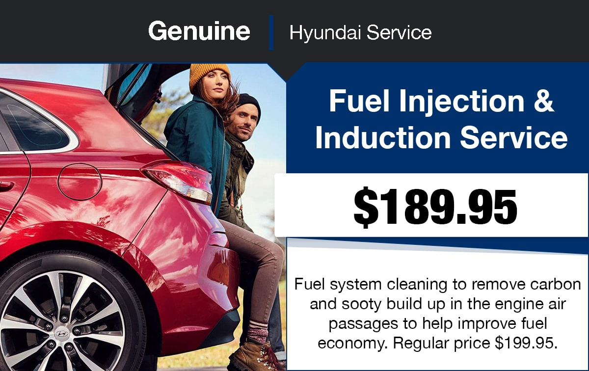 Hyundai Fuel Injector Cleaning Service Special Coupon