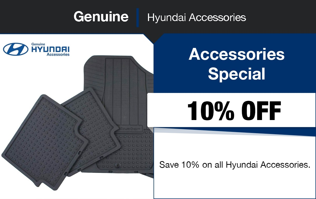 Hyundai Accessories Special Coupon