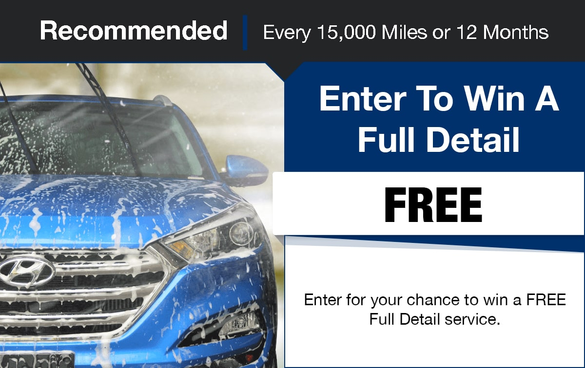 Hyundai Full Detail Contest Service Special Coupon