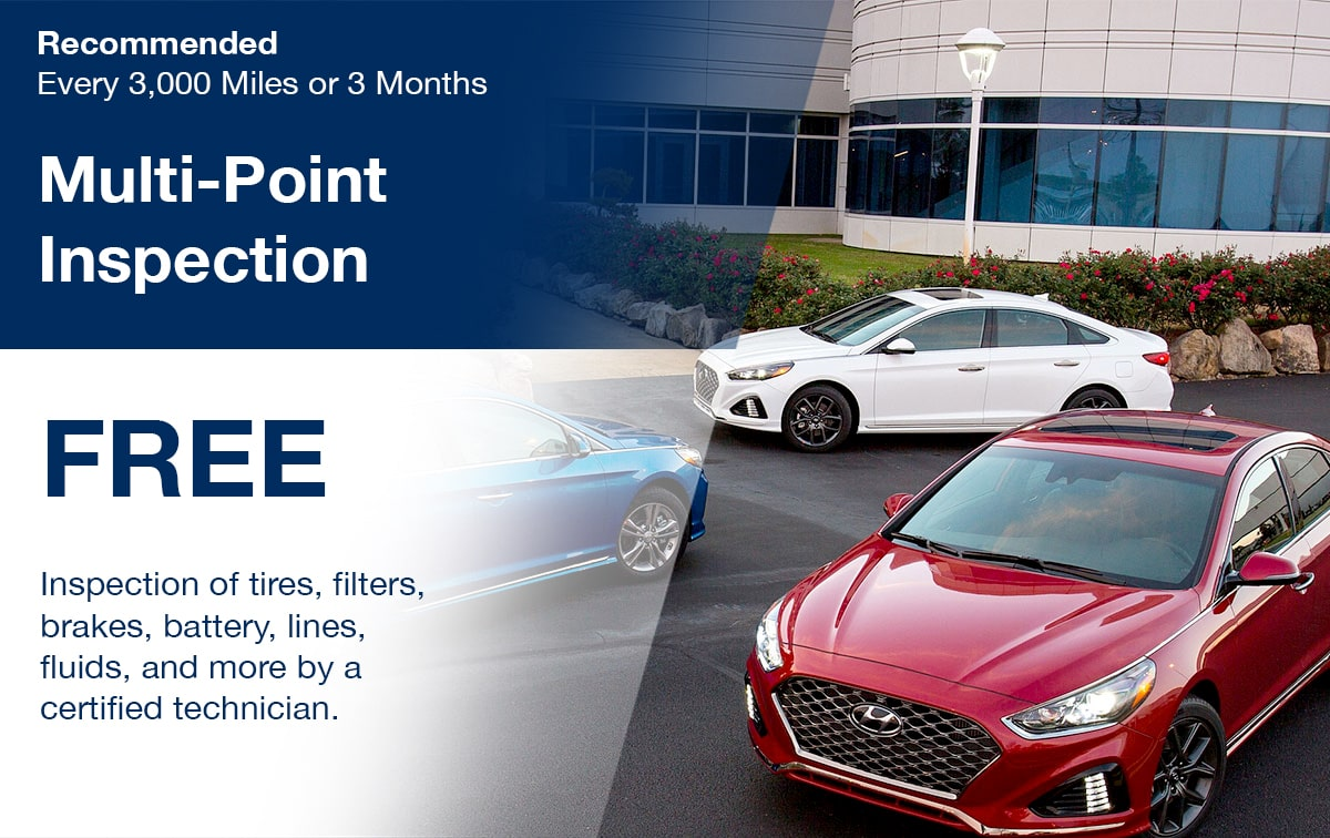 Hyundai Multi-Point Inspection Service Special Coupon