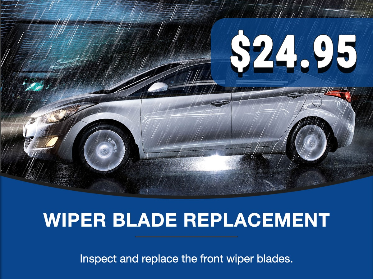 Wiper Blade Replacement Special Coupon
