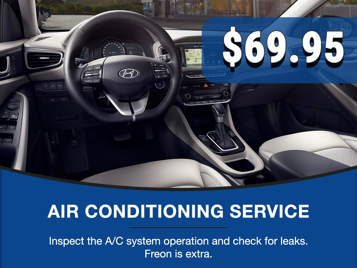 Hyundai Air Conditioning Service Special Coupon