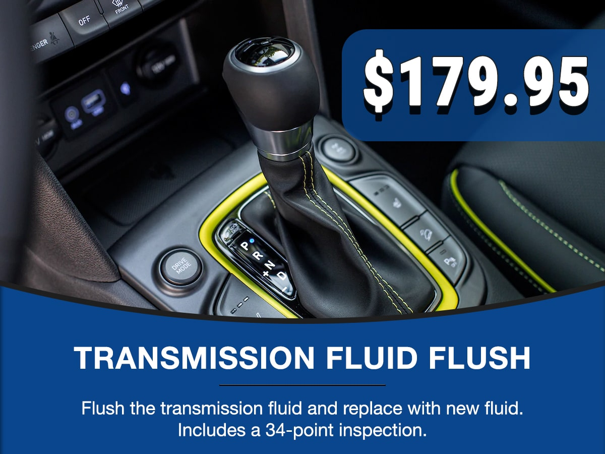 Hyundai Transmission Fluid Flush Service Special Coupon