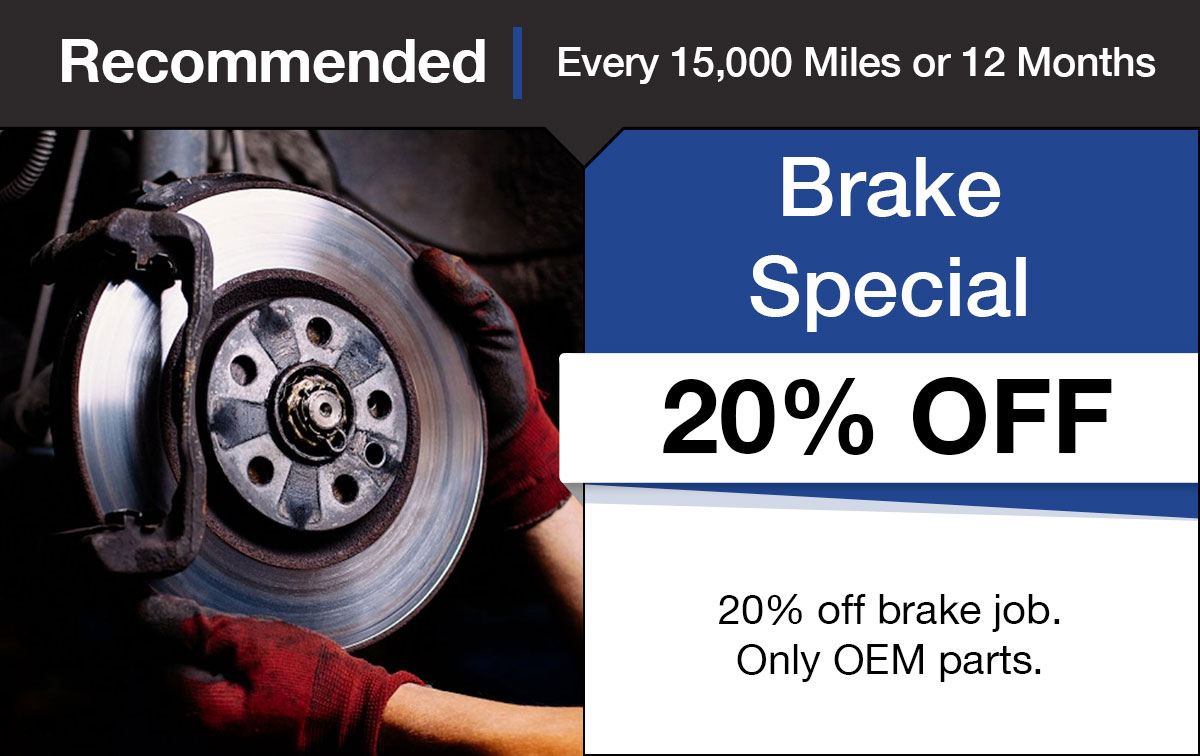 Hyundai Brake Service Special Coupon