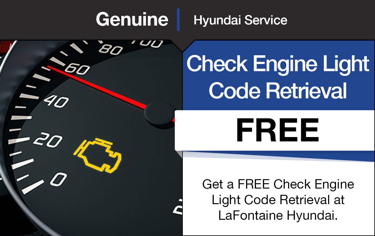 Hyundai Check Engine Light Service Special Coupon