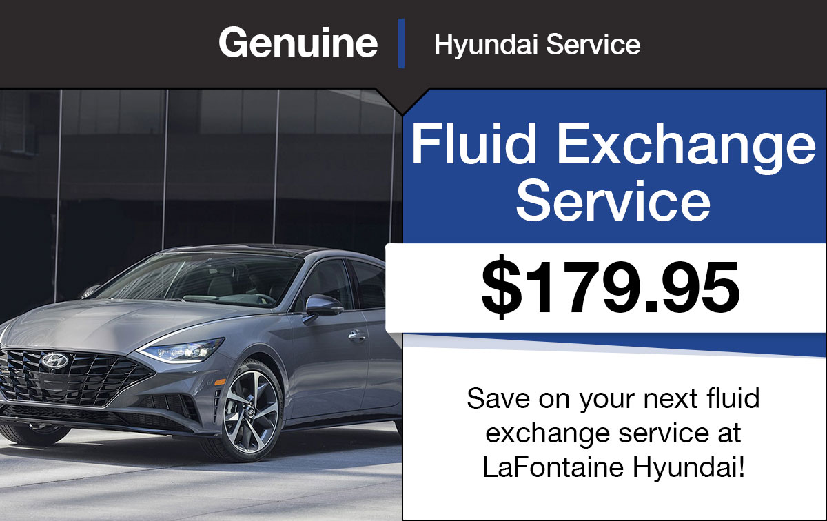 Hyundai Fluid Exchange Service Special Coupon