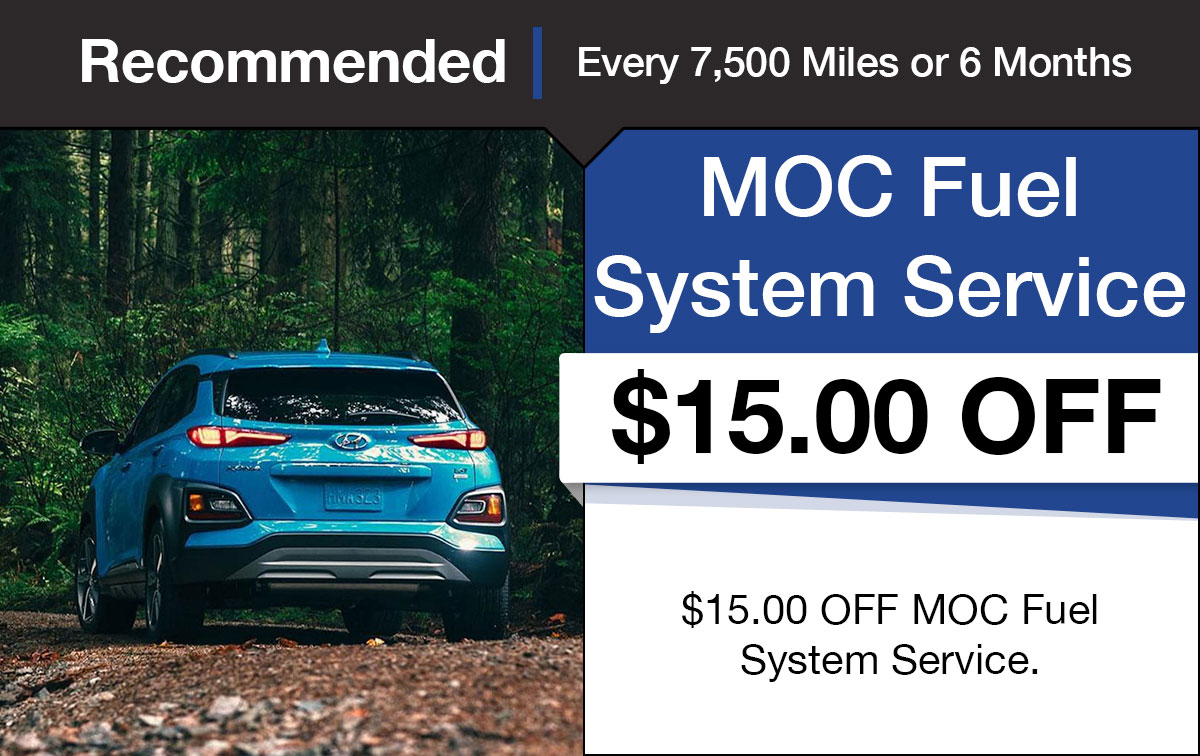 Hyundai Fuel System Service Special Coupon