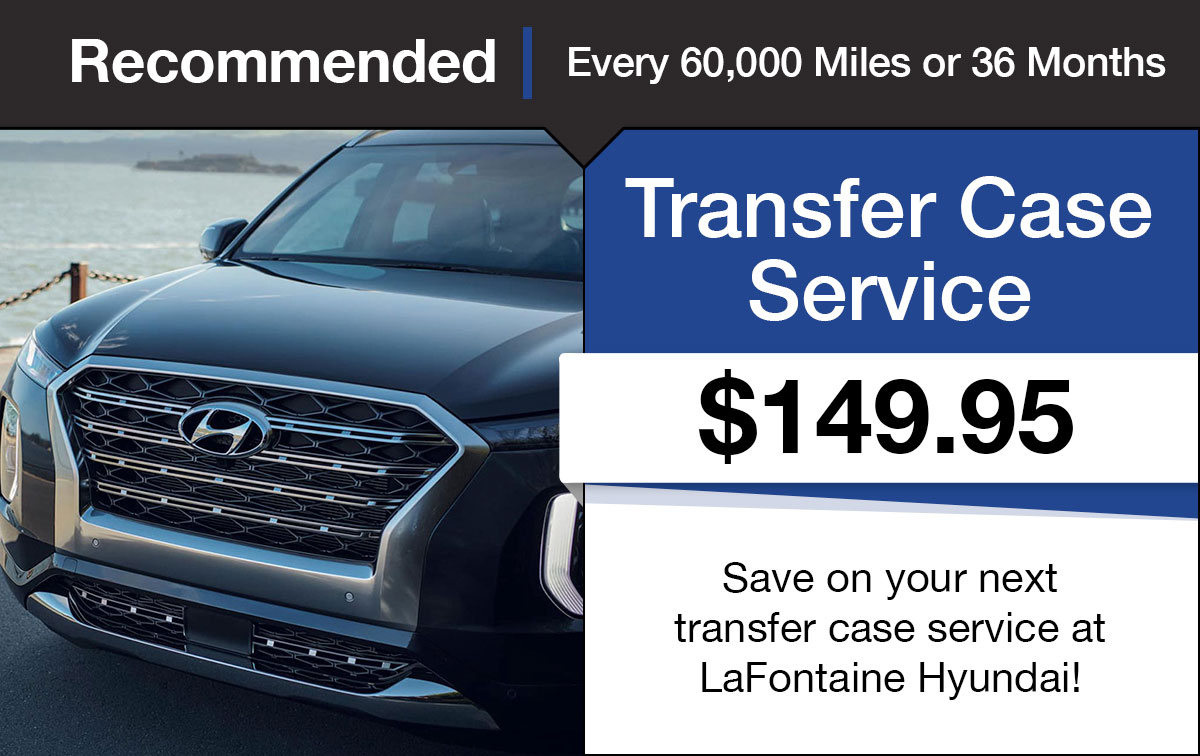 Hyundai Transfer Case Service Special Coupon