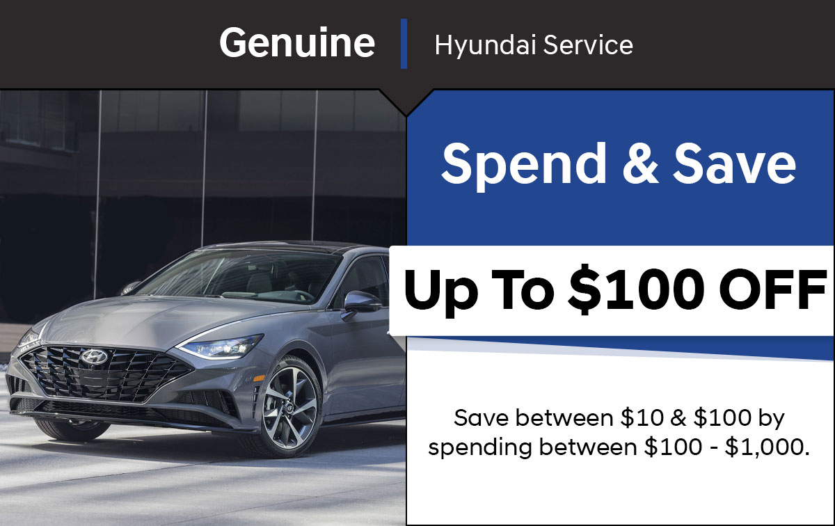 Hyundai Spend & Save Special Coupon