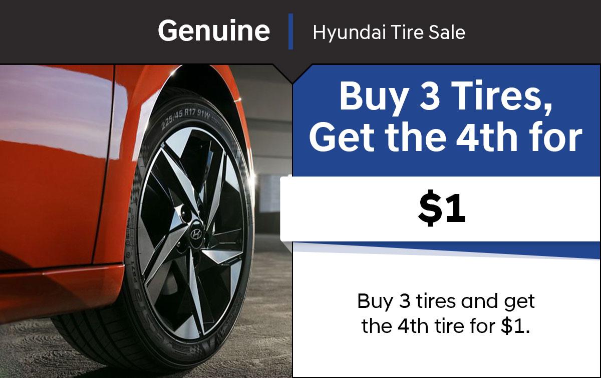 Hyundai Tire Event Special Coupon