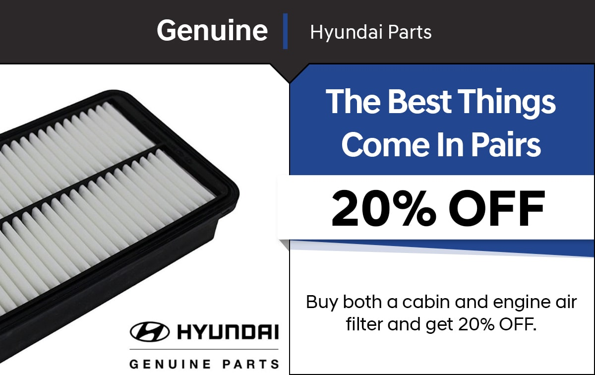 Hyundai The Best Things Come In Pairs Special Coupon