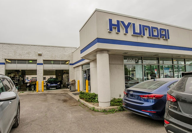 LaFontaine Hyundai Dealership