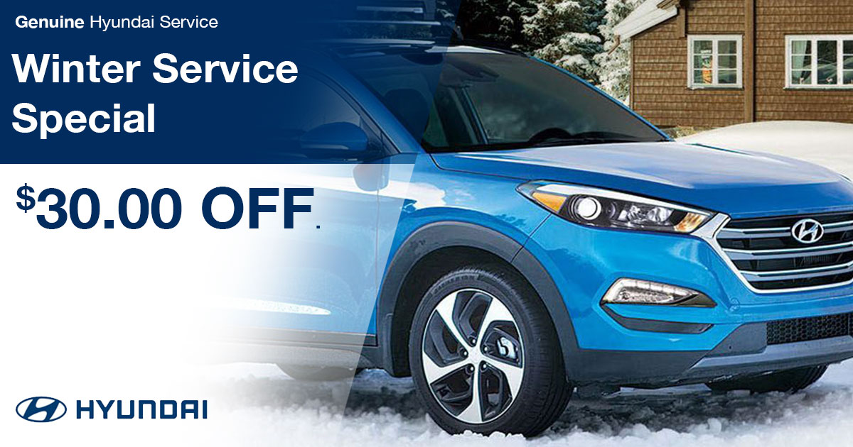 Hyundai Winter Service Special Coupon