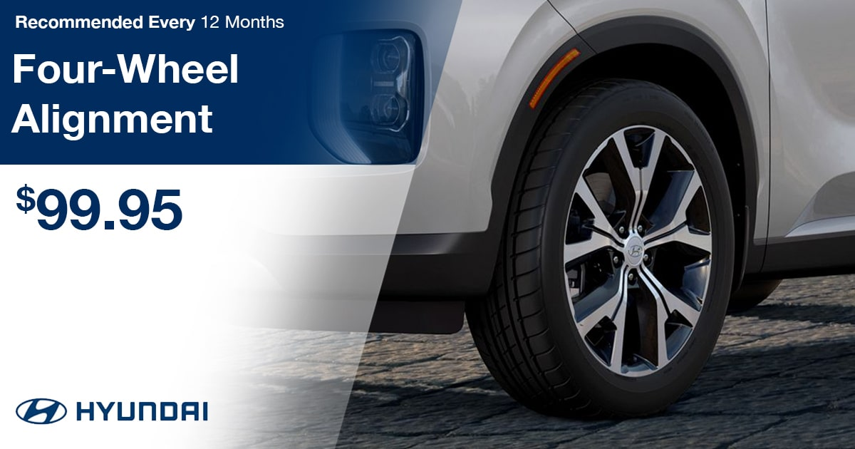 Hyundai Four-Wheel Alignment Service Special Coupon