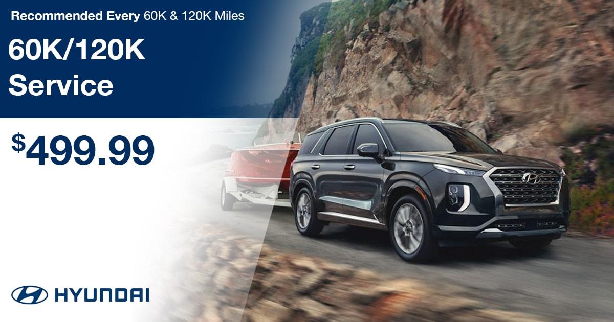Hyundai 60K/120K Service Special Coupon