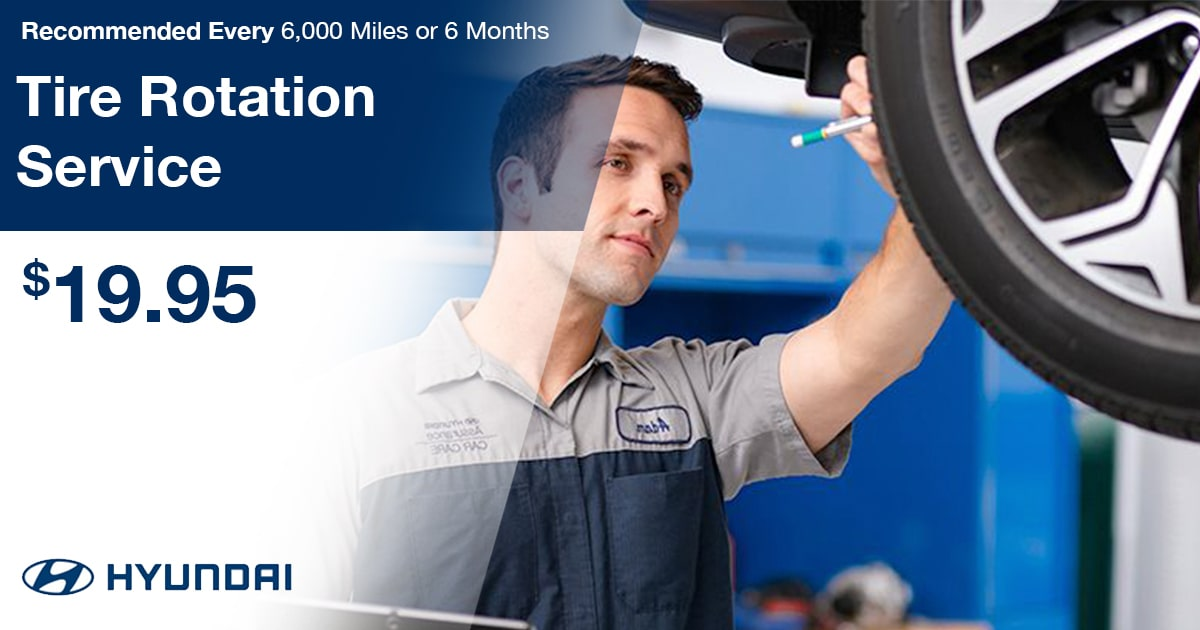 Hyundai Tire Rotation Service Special Coupon