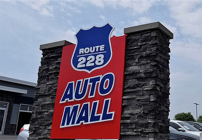 Route 228 Auto Mall Amenities
