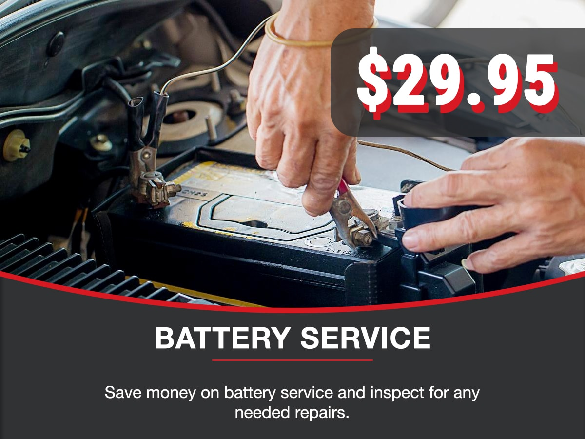 Battery Service Service Special Coupon