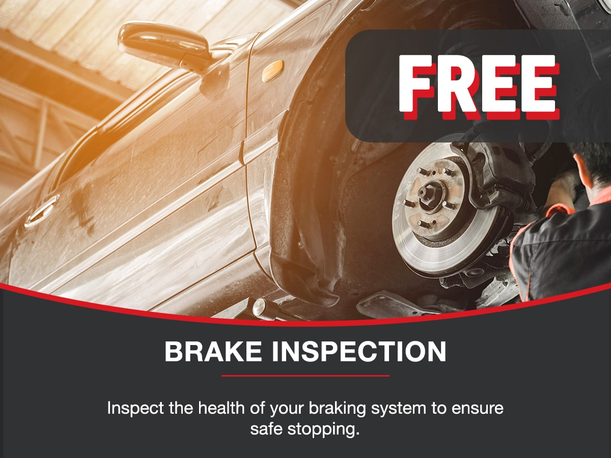 Brake Inspection Service Special Coupon