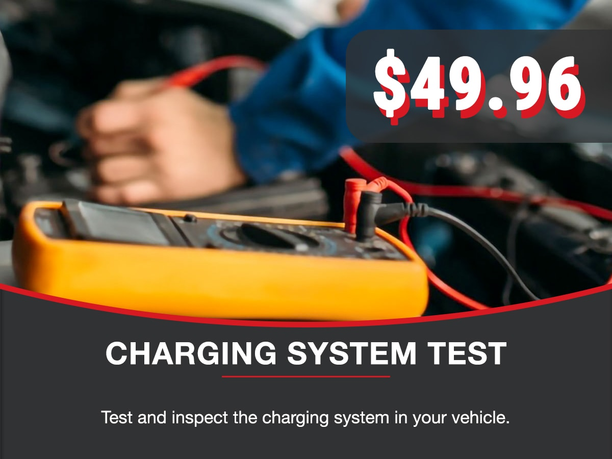 Charging System Test Service Special Coupon