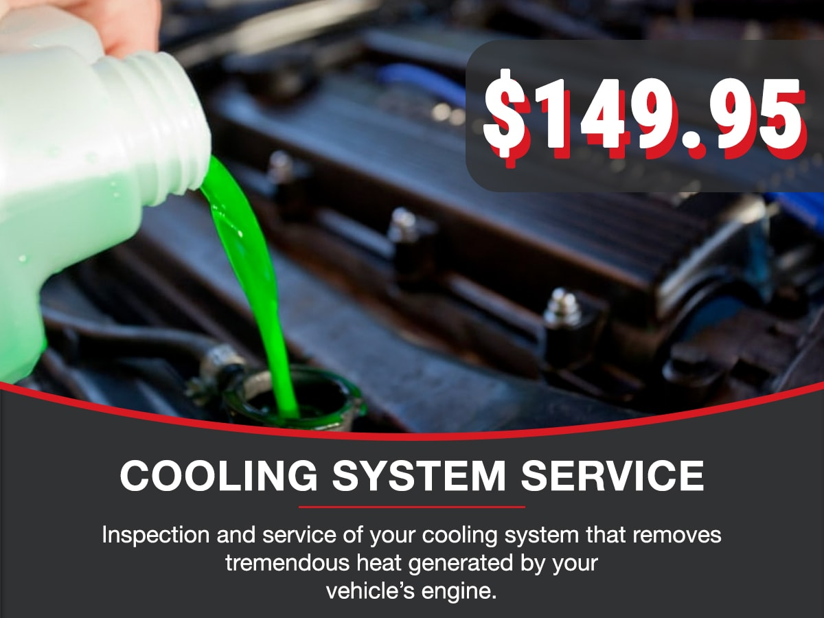 Cooling System Service Service Special Coupon