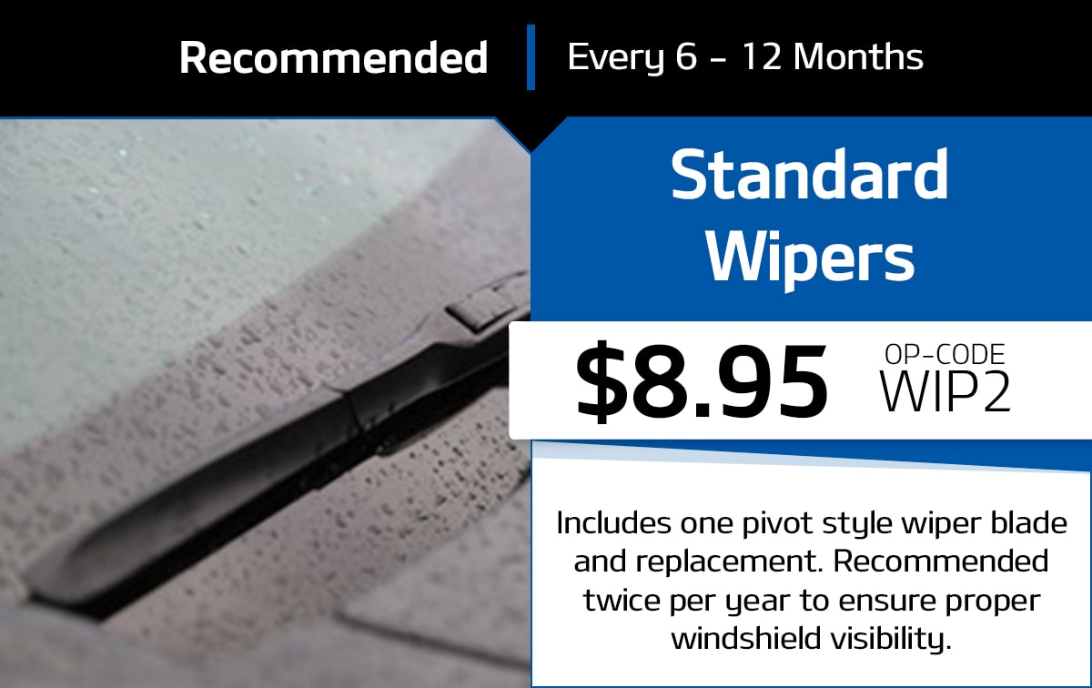 Standard Wipers Service Special Coupon