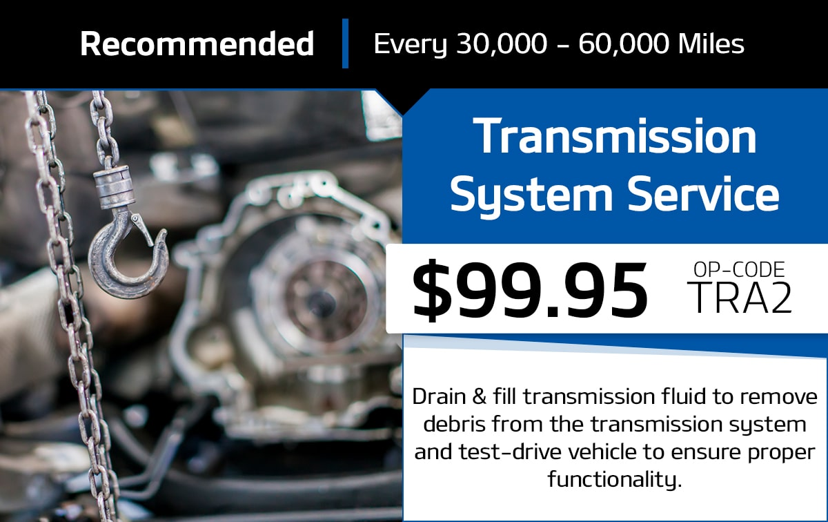 Transmission System Service Special Coupon