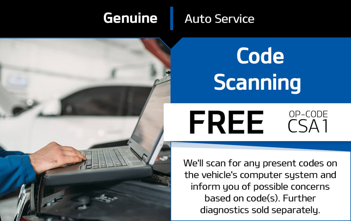 Code Scanning Service Special Coupon