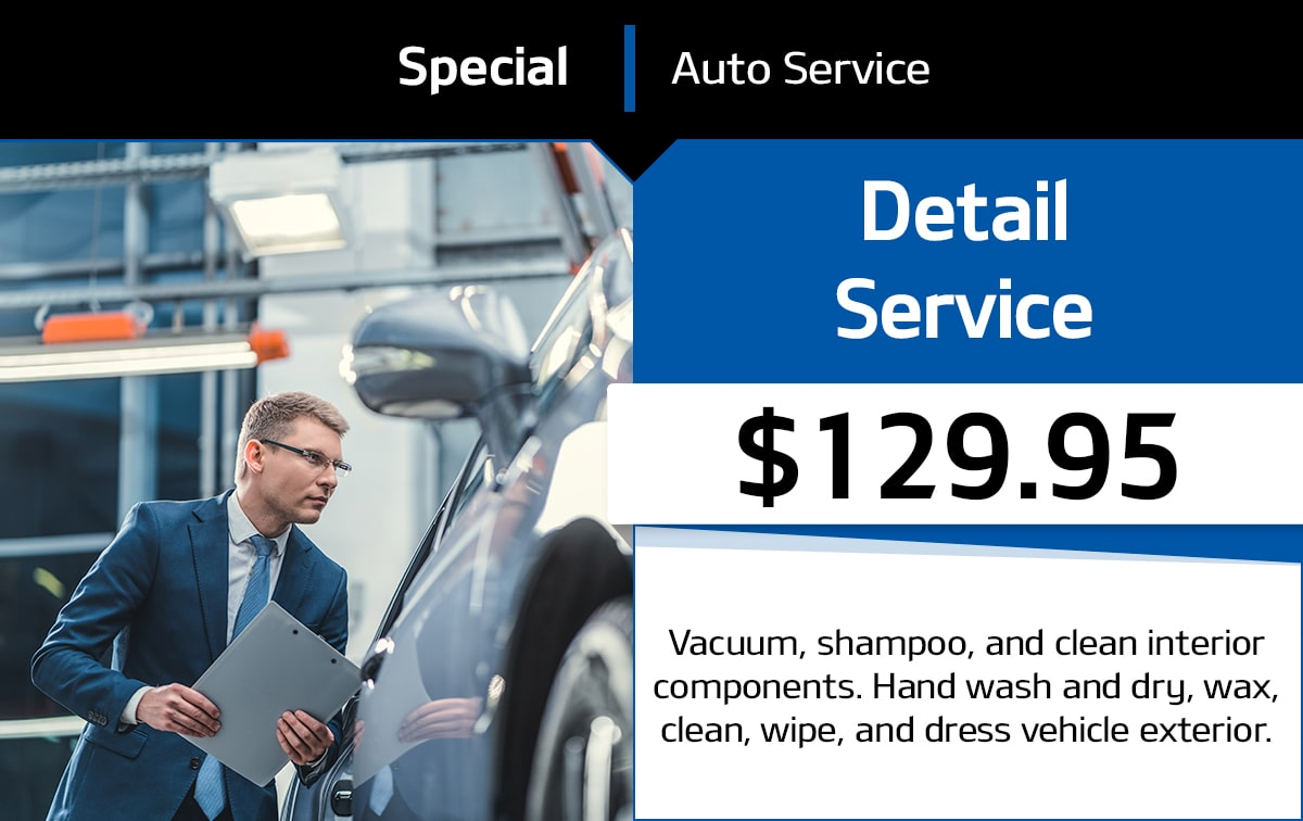 Detail Service Special Coupon