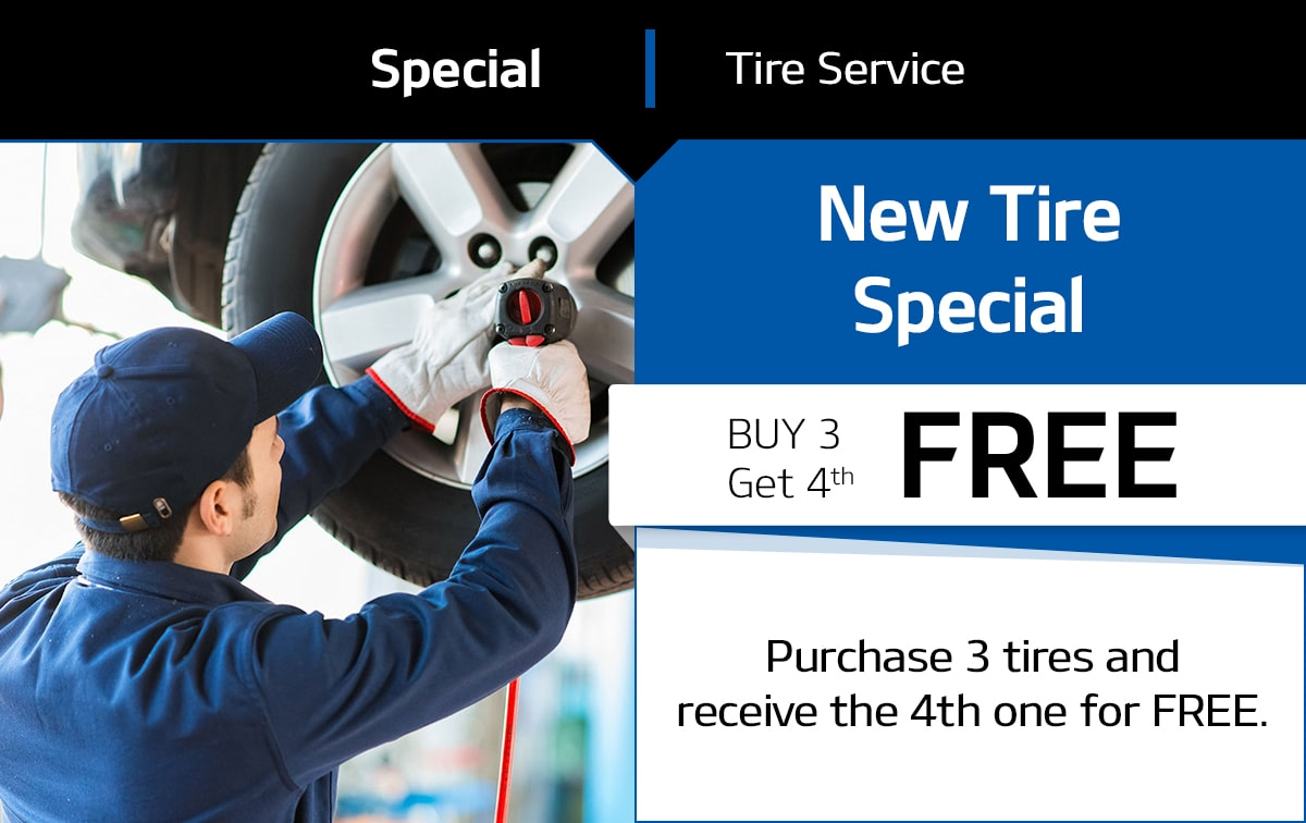 New Tire Special Coupon