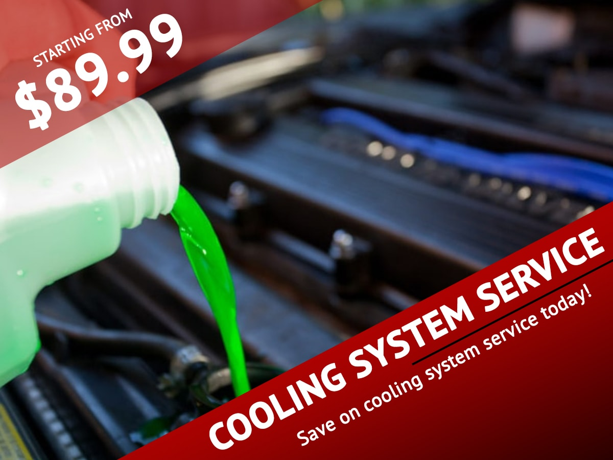 SRQ Cooling System Service special coupon