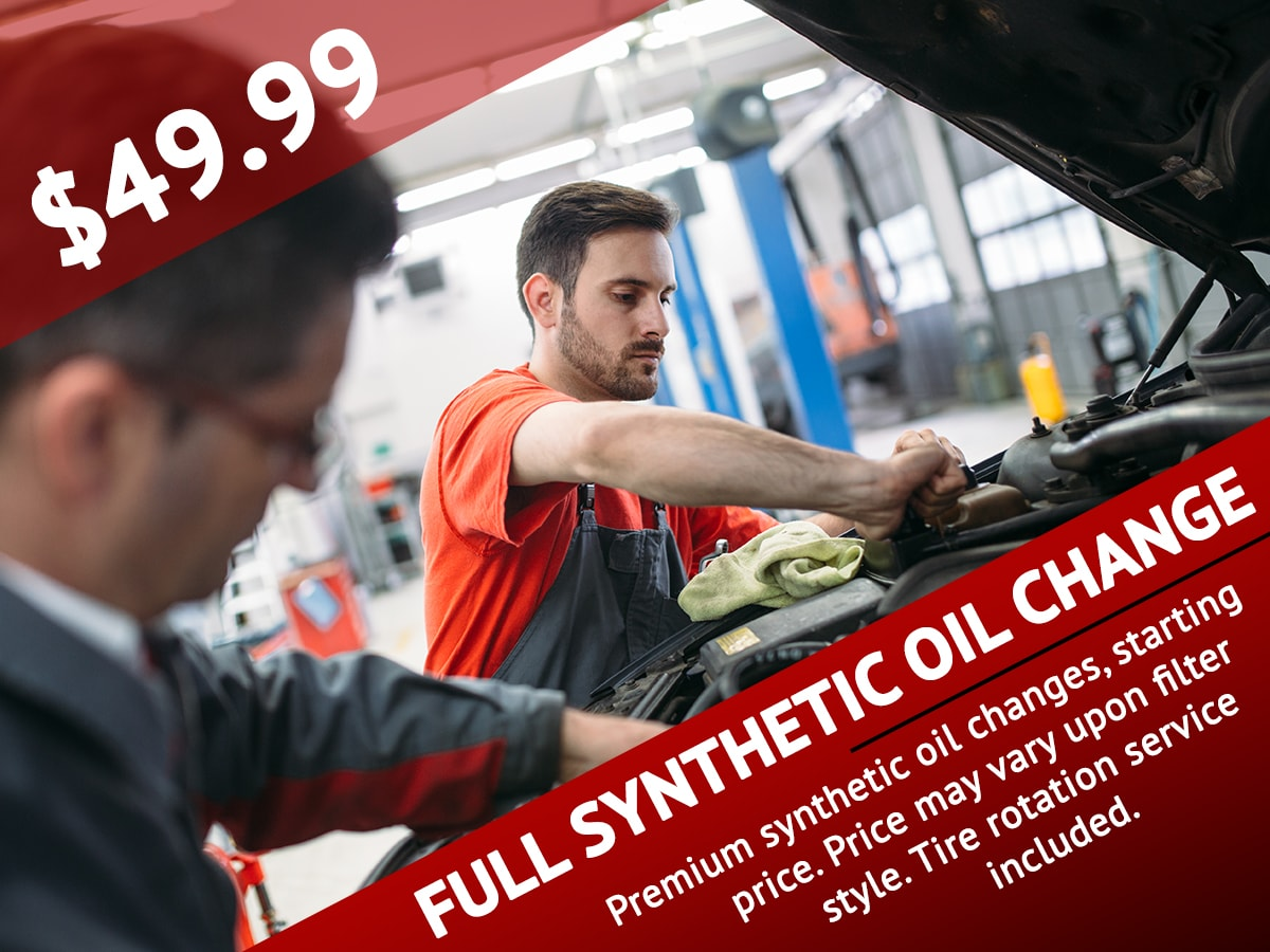 SRQ Autos Full Synthetic Service Coupon