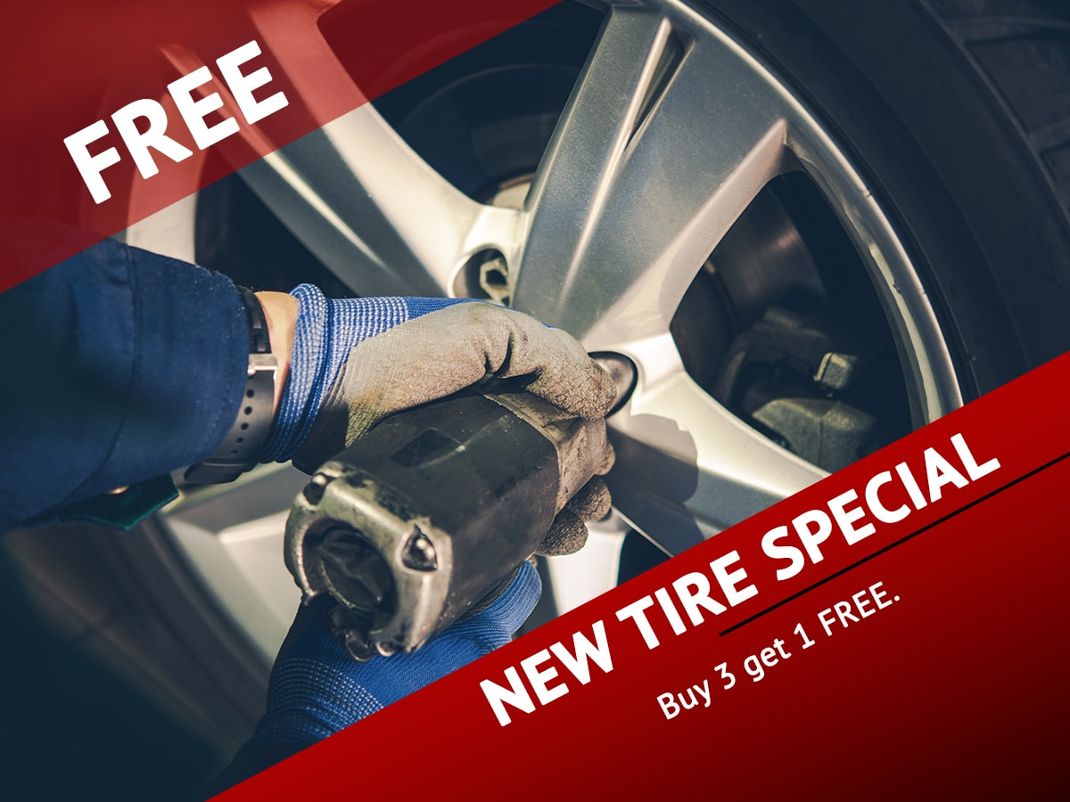 Tire Service Special Coupon