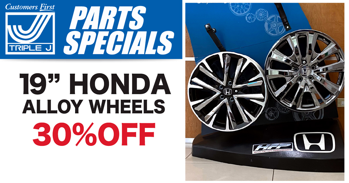 Car, Truck or SUV 19 inch Honda Alloy Wheels Special Coupon