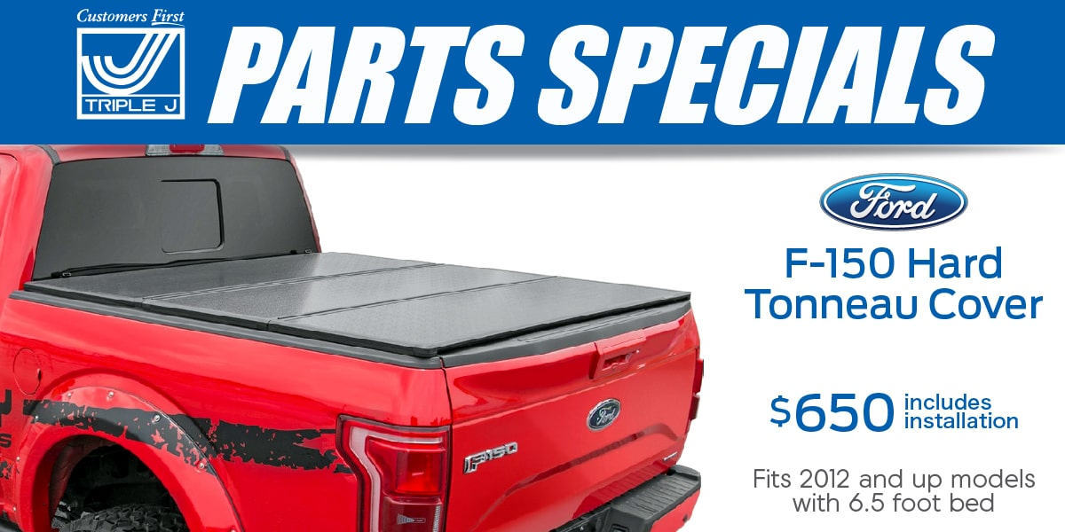 Ford F-150 Hard Tonneau Cover Special Coupon