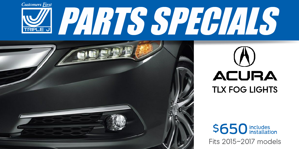 Car, Truck or SUV Acura TLX Fog Lights Special Coupon