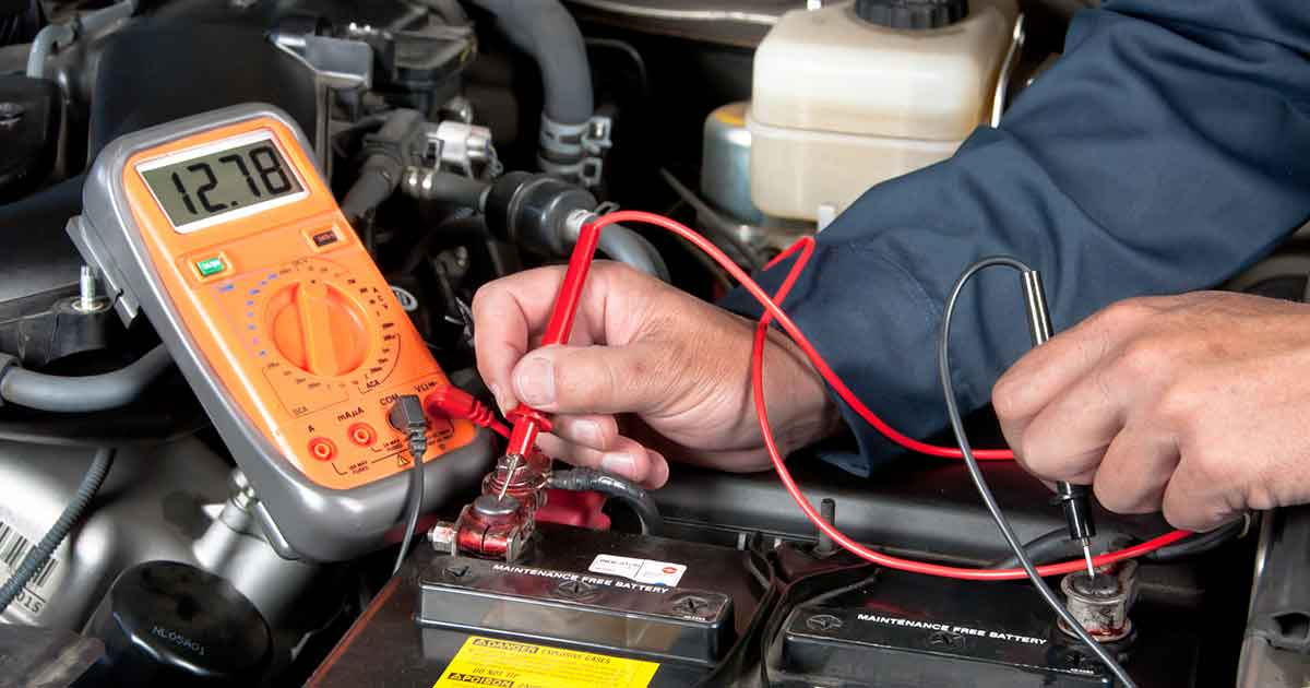 Battery Check Service Special Coupon