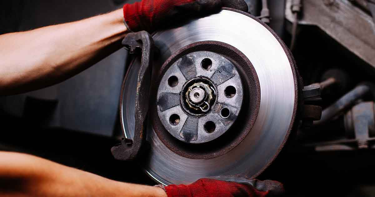 Front or Rear Brake Job Service Special Coupon