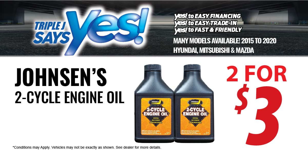 Johnsen's 2-Cycle Engine Oil Service Special Coupon