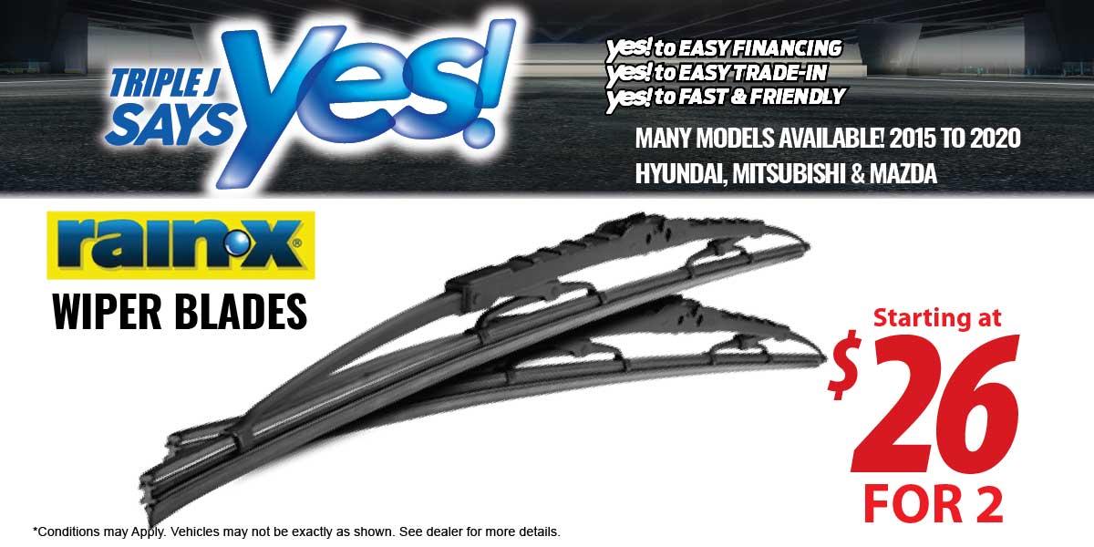 RainX Wiper Blades Service Special Coupon