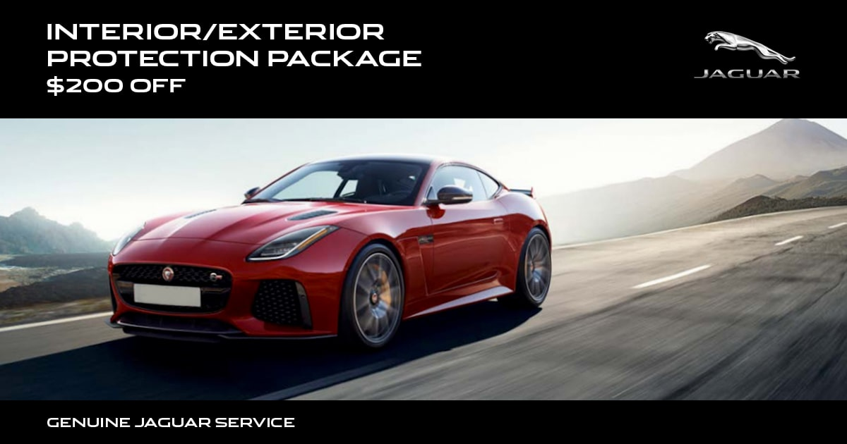 Jaguar Interior/Exterior Protection Package Special Coupon