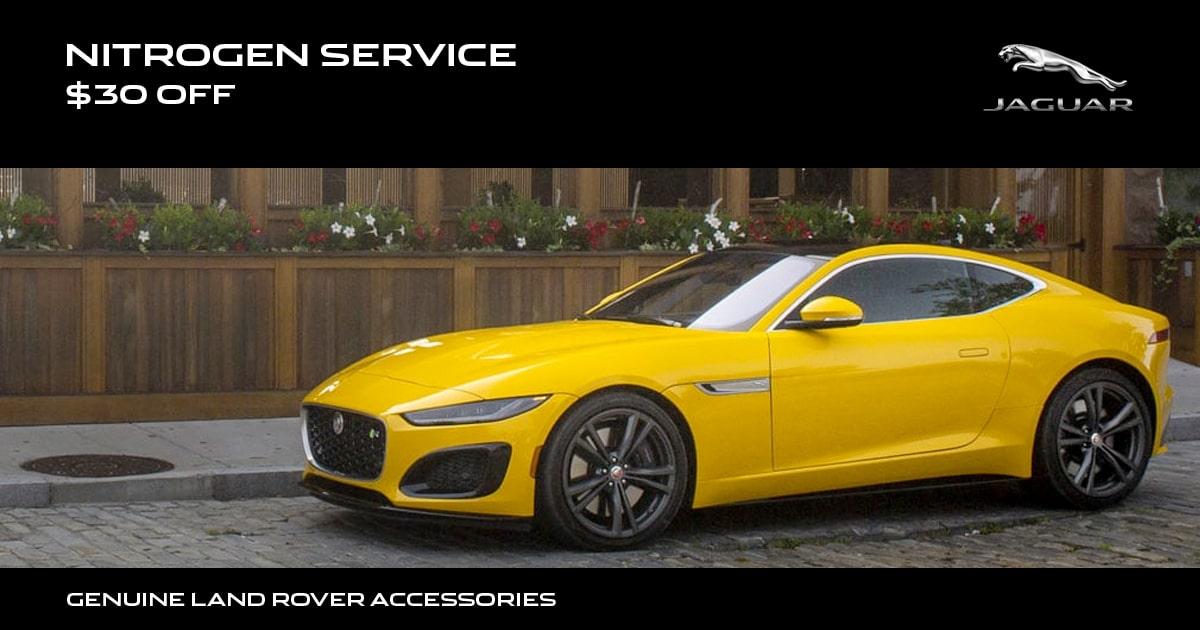 Jaguar Nitrogen Service Special Coupon
