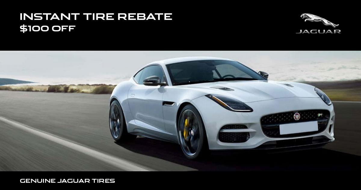 Jaguar Instant Tire Rebate Special Coupon