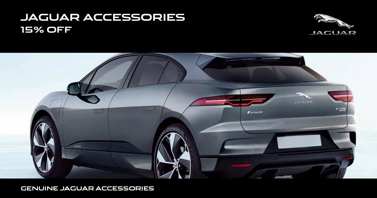 Jaguar Accessories Special Coupon