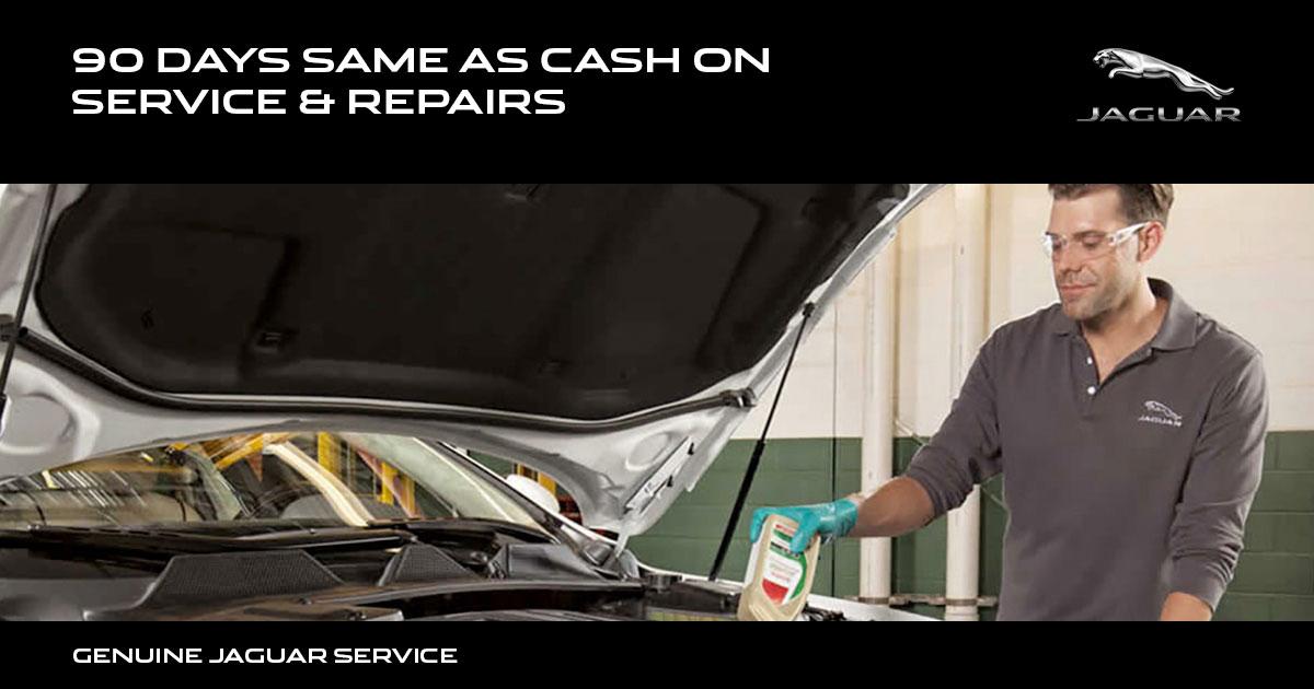 Jaguar Sunbit Financing Service Special Coupon