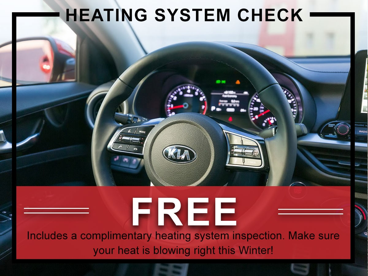 Heating System Check Service Special Coupon