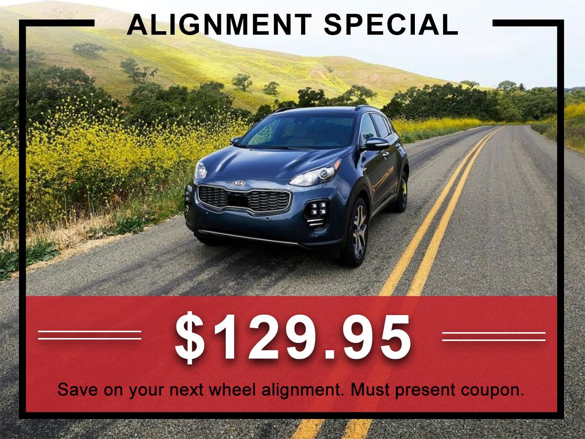 Kia Wheel Alignment Service Coupon | Allentown, PA
