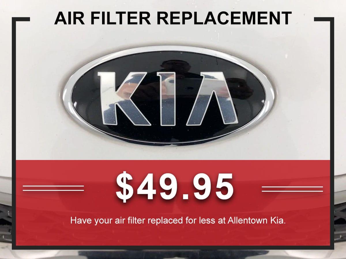 Kia Air Filter Service Coupon