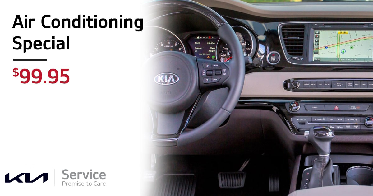 Kia Air Conditioning Special Service Special Coupon