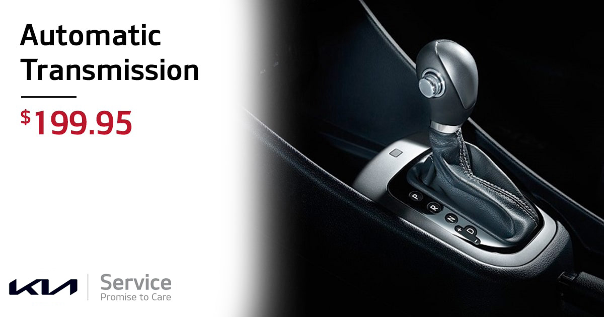 Kia Automatic Transmission Service Special Coupon